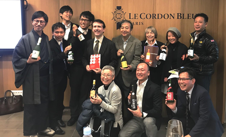 cordon bleu Saké