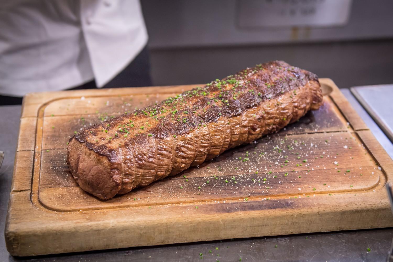 Diner Bord Bia Irish Food Board par Pierre Teyant / Noveau Chef Irish Beef Club au Chateau des Iles, le 20 octobre 2017. Photo by © Christophe Guibbaud