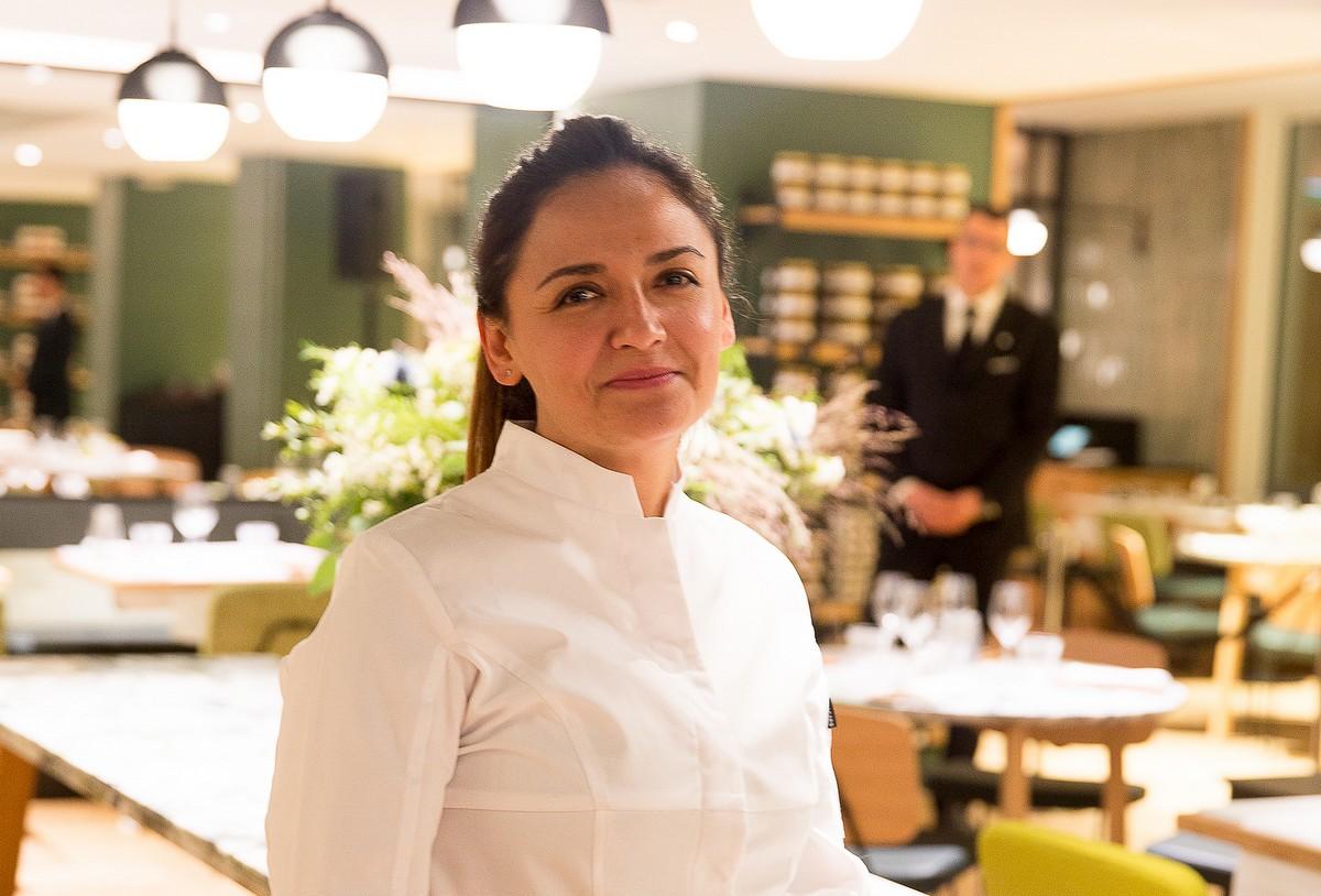 Beatriz Gonzalez (chef du restaurant Le Rive Droite) 1200
