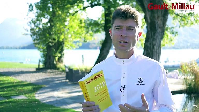 jean sulpice cuisinier de l'année 2018 du Gault Millau