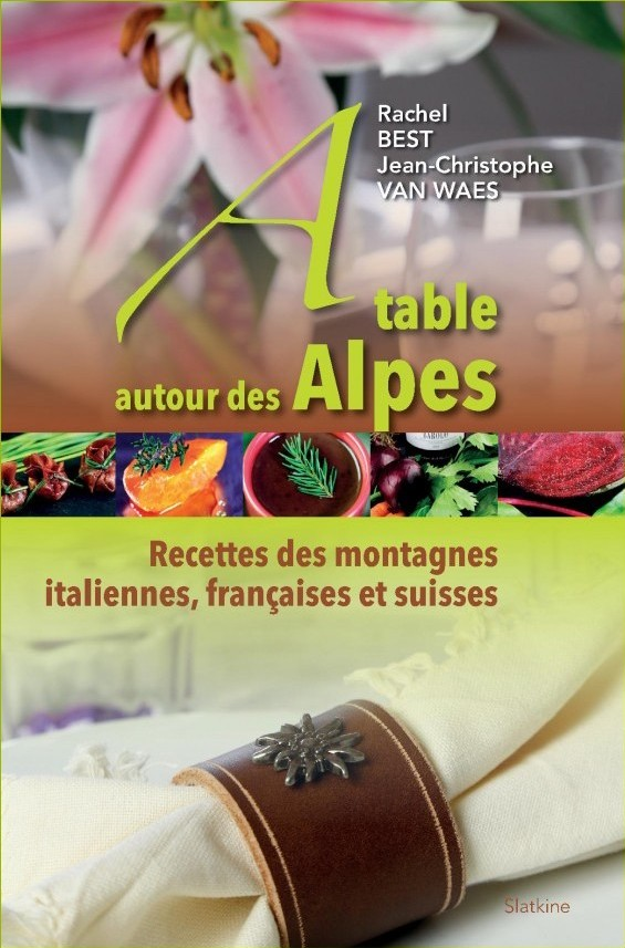 couv a table alpes