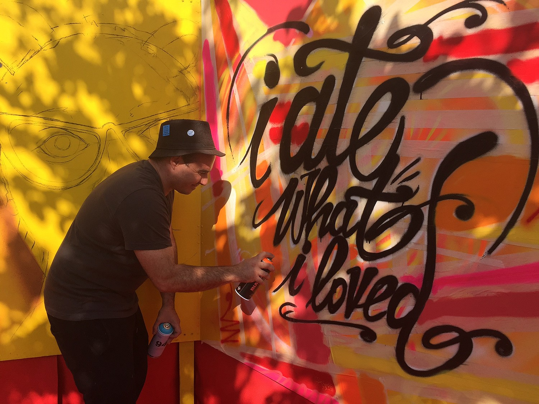 FABEN l'artiste de rue à Eze
