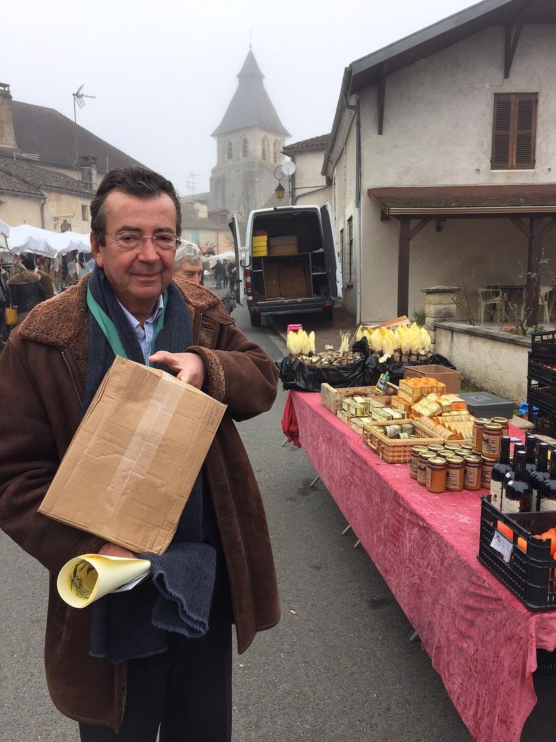 FAURE Philippe fait son marché