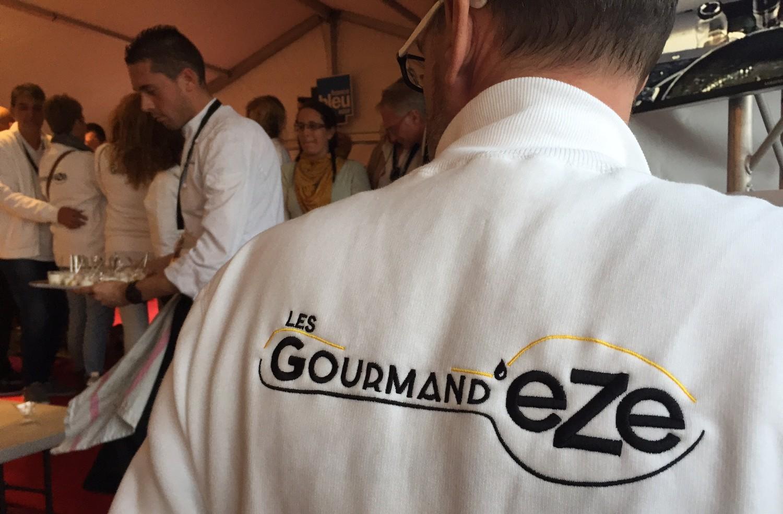 logo les gourmand'eze tee shirt