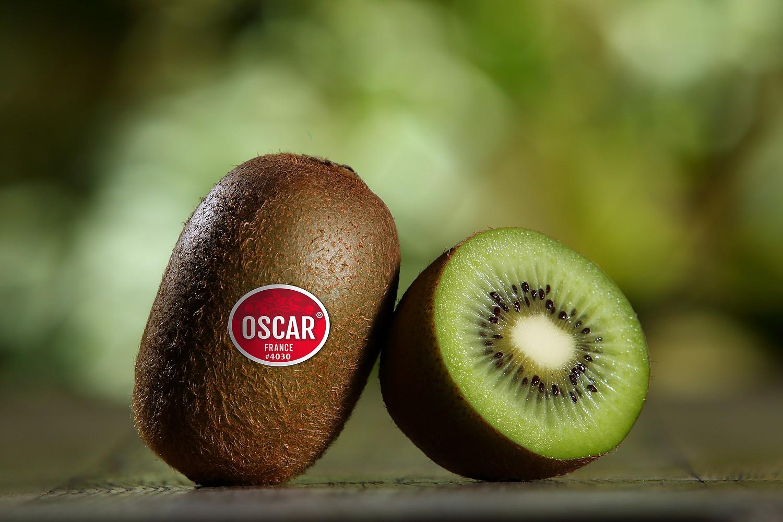OSCAR Kiwi tranché gros plan