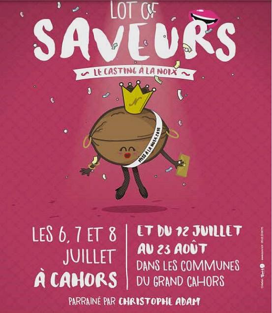 LOT OF SAVEURS, 6 au 8 juillet 2018 - Cahors