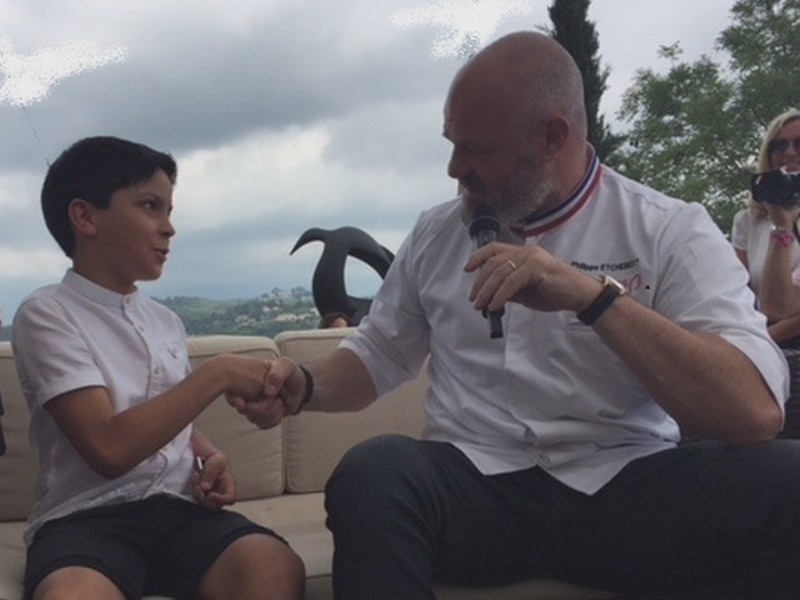 Le petit Thomas et le Chef Philippe / TB.laradiodugout.fr