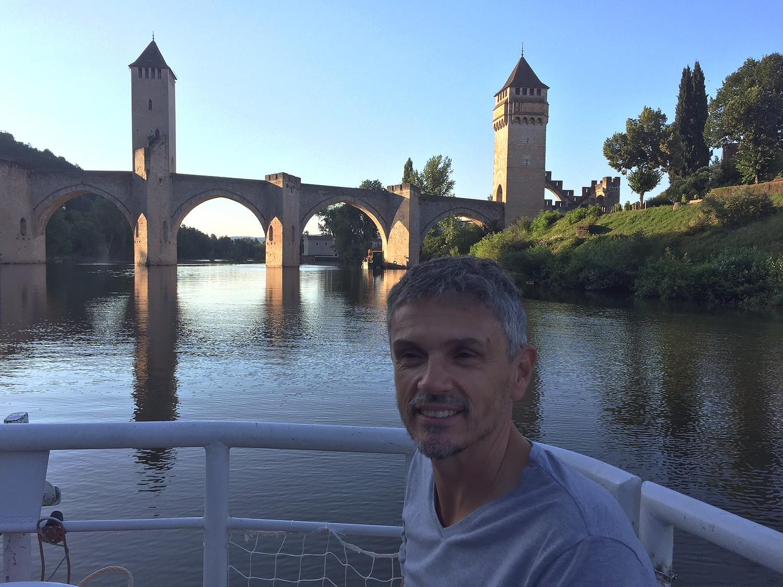 ADAM Christophe et le Pont Valentré Cahors