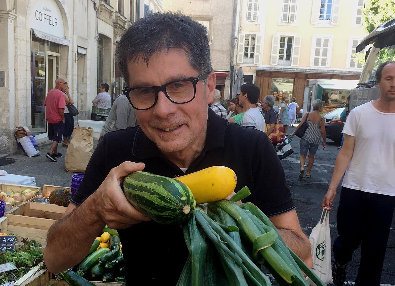 BLANCO David Maison côté sud Cahors Lot President des Bonnes tables du Lot 1