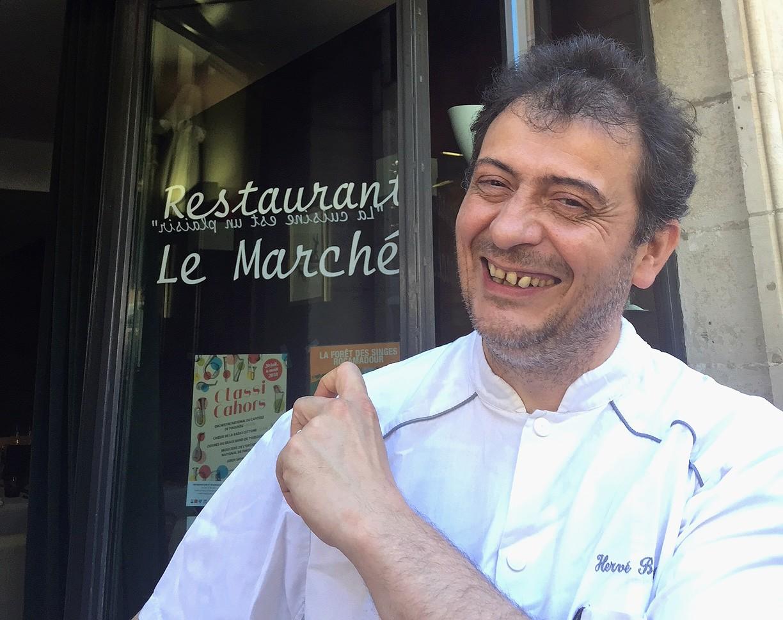 BOURG Hervé Le Marché Cahors Lot portrait