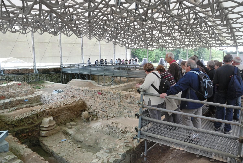 Visiteurs fouilles Bibracte, Antoine Maillier