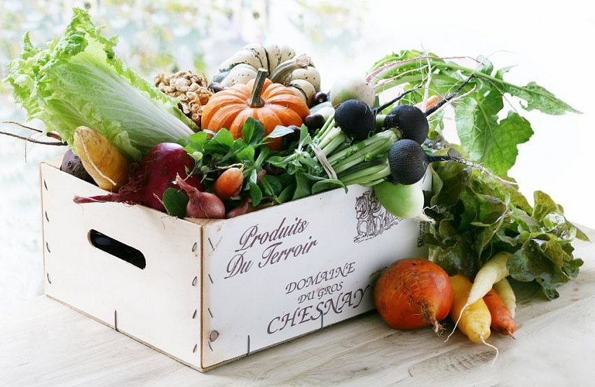 panier légumes arpege passard