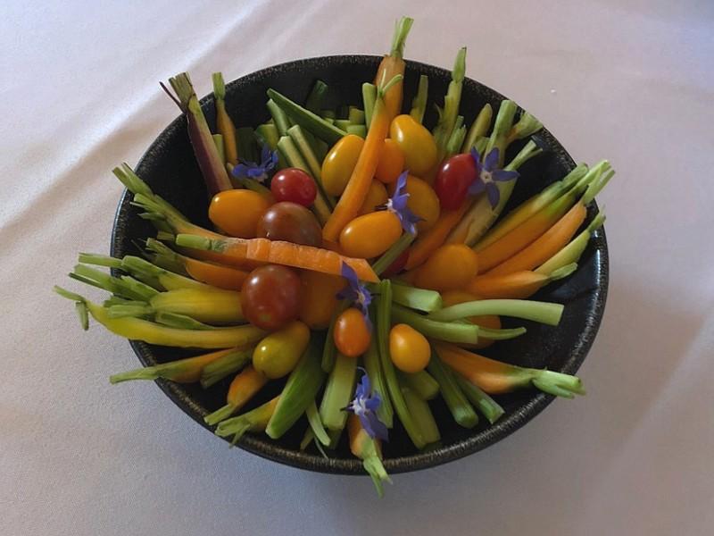 passard assiette légumes