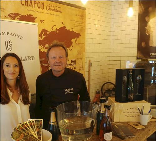 Auriane Denis et Patrice Chapon ©C.Duteil