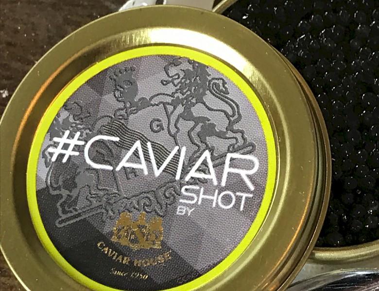 caviar shot