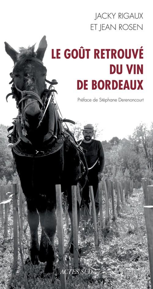 couv le gout retrouvé du Bordeaux