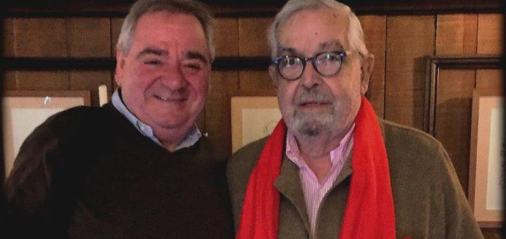 Avec Bernard Giraudel en avril 2016 ©Thierry Bourgeon laradiodugout.fr