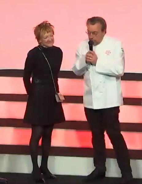 Laurent Petit et son épouse © Guide Michelin