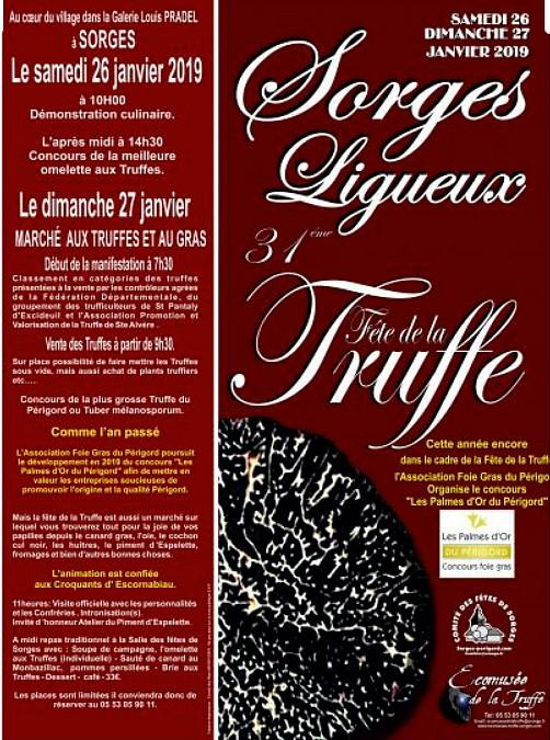 Fête de la truffe de Sorges et Ligueux (24)