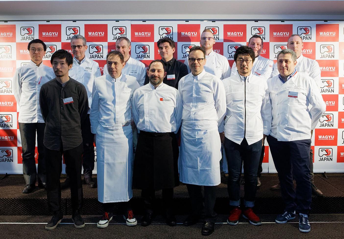 Les chefs français amateurs du Wagyu ©DR