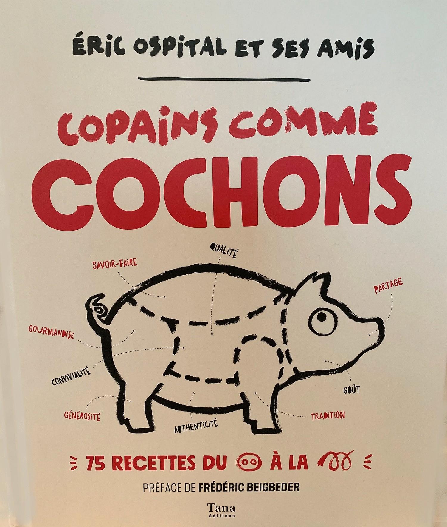 Copains comme cochons couverture livre