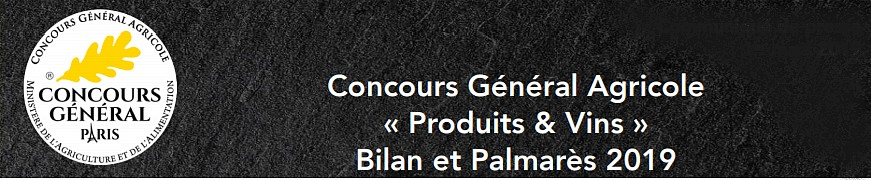 banc titre concours général agricole 2019