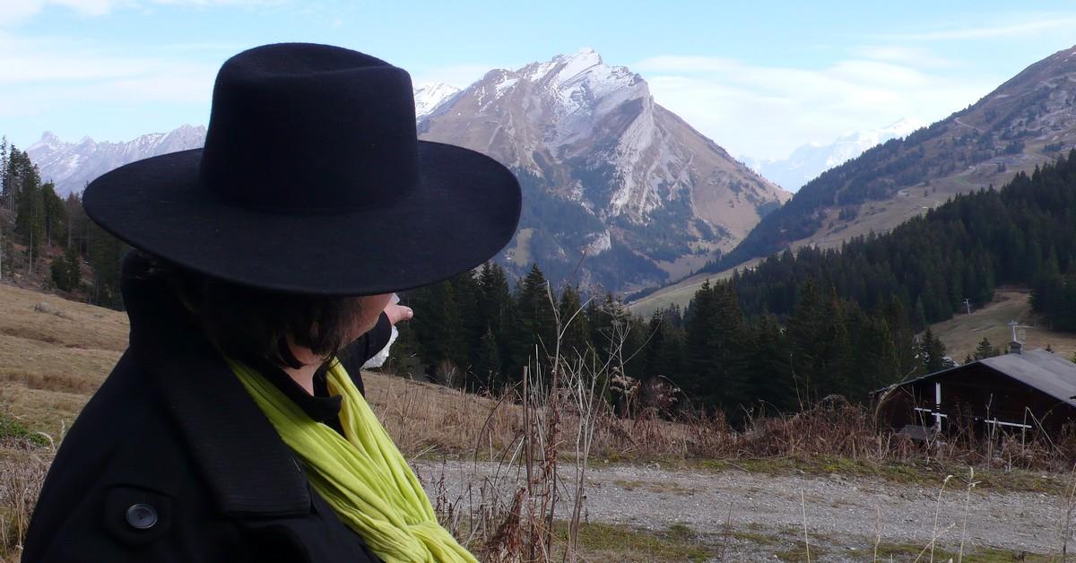 Marc Veyrat sur sa montagne ©TB/laradiodugout.fr