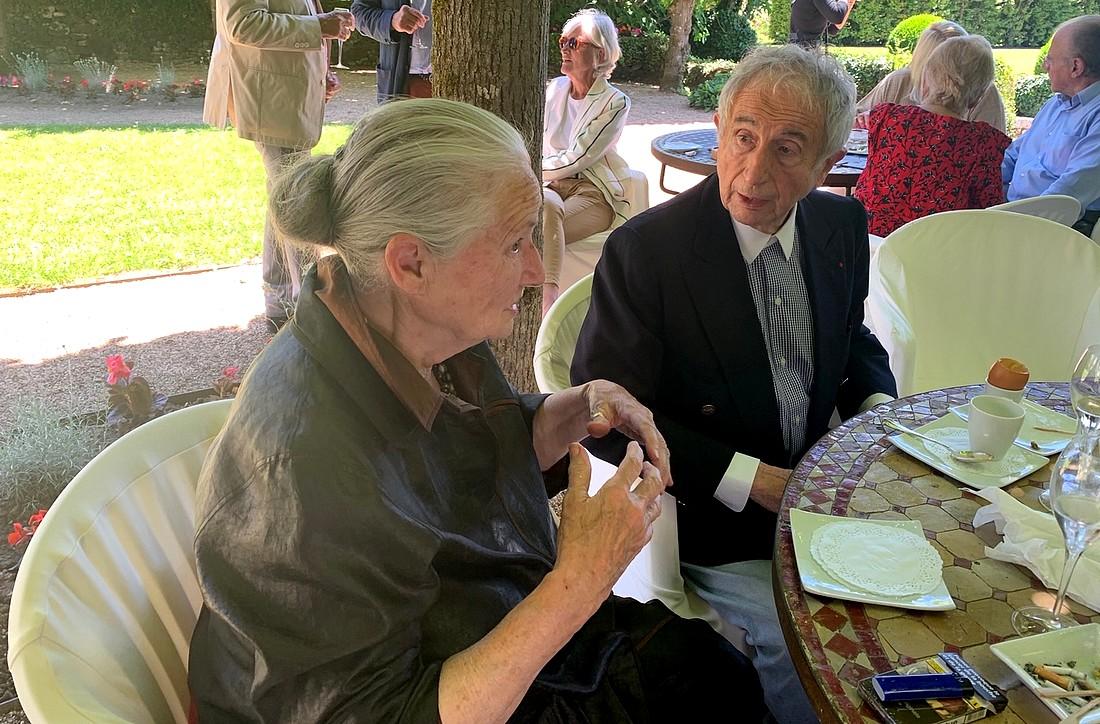 Michel Guérard et Danièle Mazet Delpech elle aussi une périgourdine de légende ©TB/laradiodugout.fr