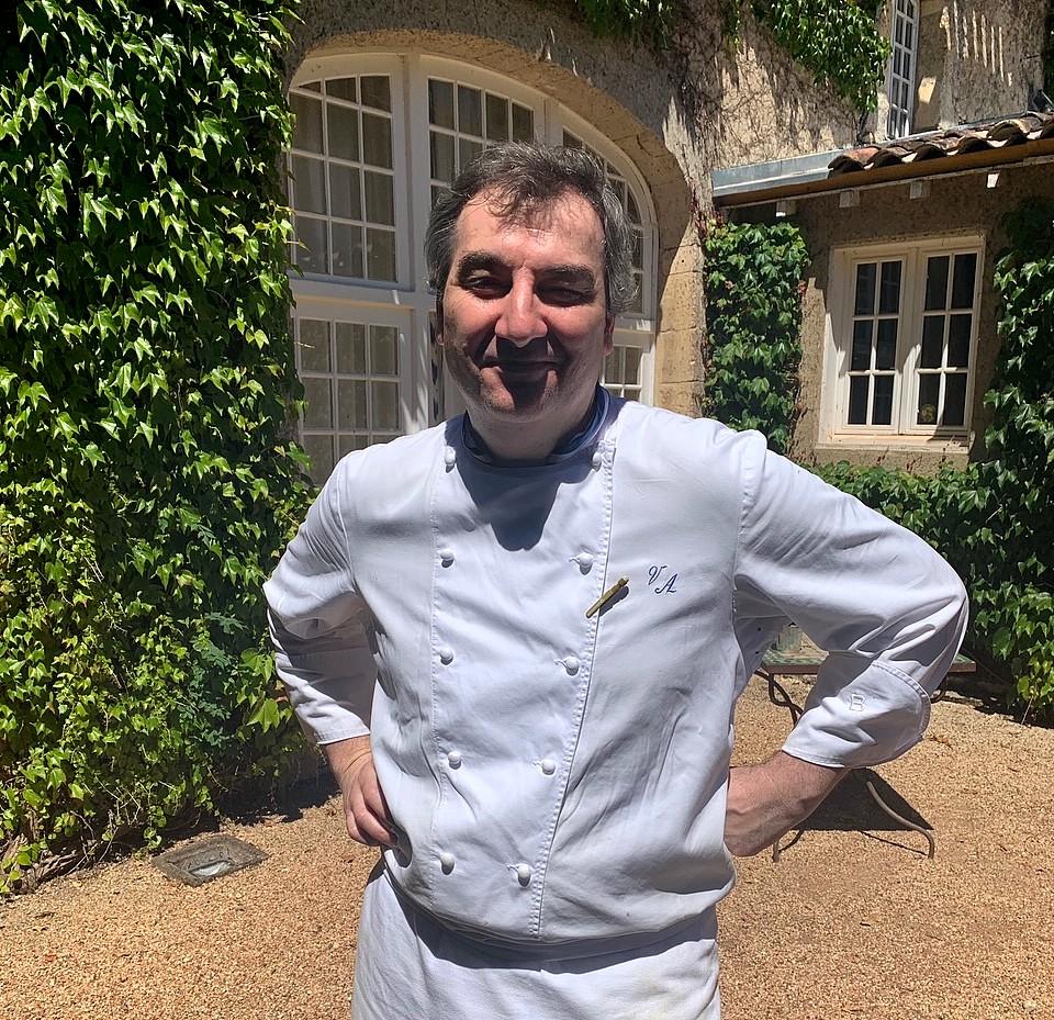 Vincent Arnoux, le chef du Vieux Logis © TB /laradiodugout.fr