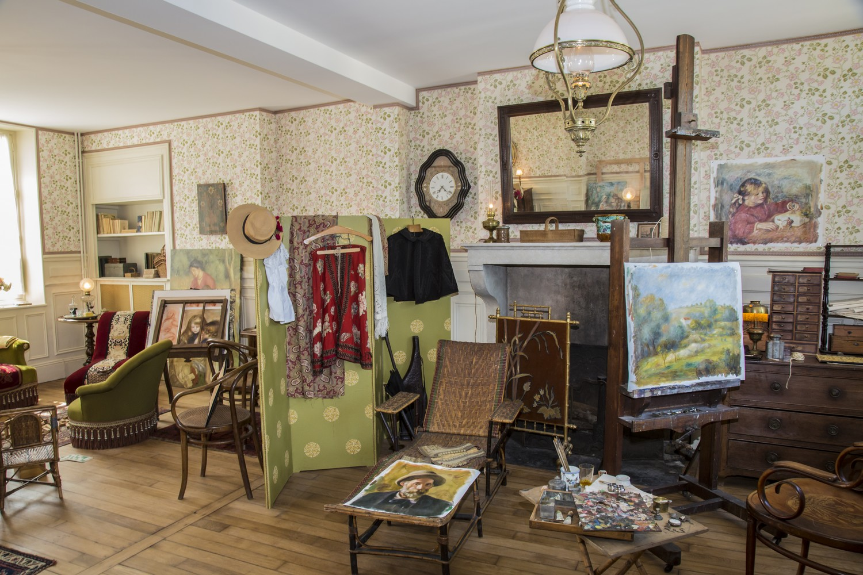 Salon de la maison. Du côté de Renoir © Gérard Personeni