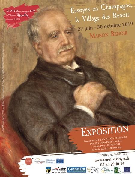 affiche expo Renoir Rosenberg 450