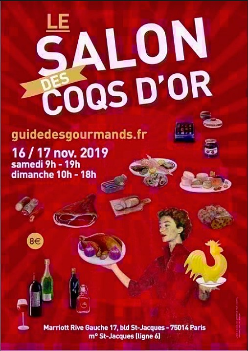 affiche salon des coqs d'(or