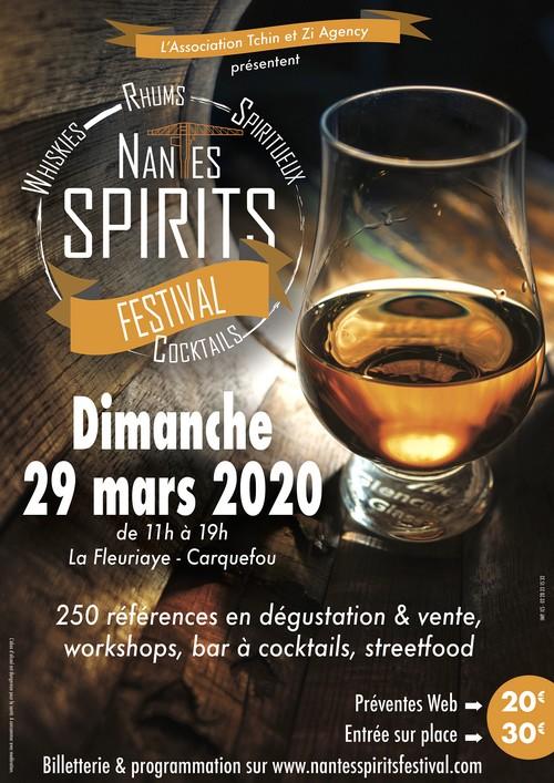 Nantes Spirits Festival : 29 mars 2020
