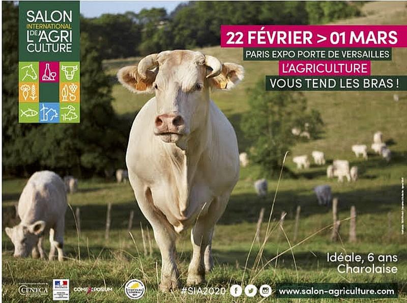 affiche salon agriculture 2020
