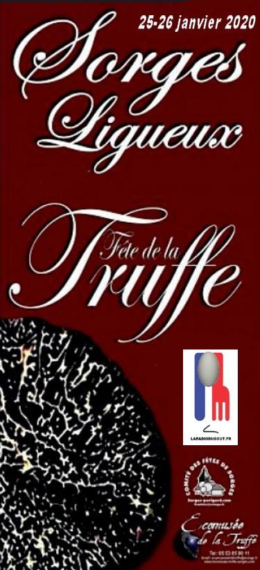 Fête de la Truffe - Sorges- Dordogne- 25-26 janvier 2020