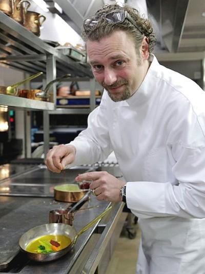 le cuisinier de l'année 2020 ©Gault & Millau