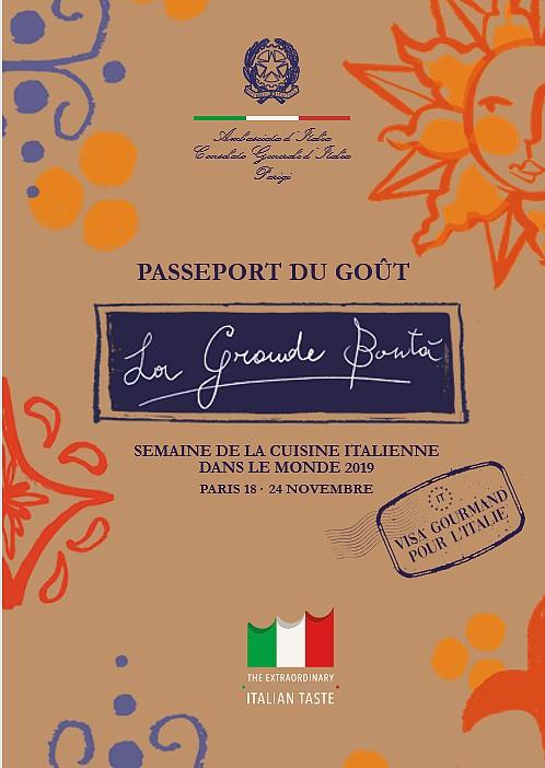 passeport goût italie