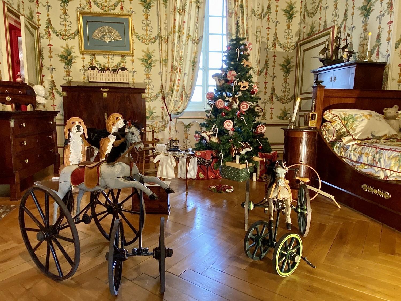 chambre de Noël ©cheverny
