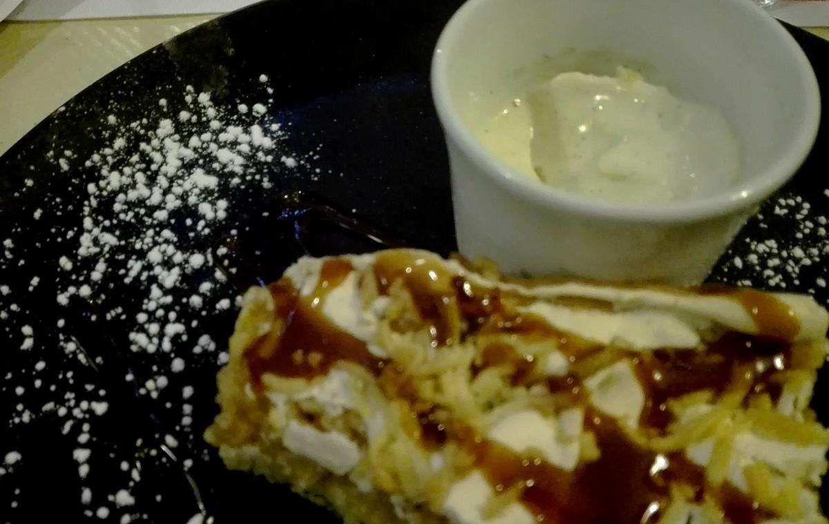 le dessert! ©I.Monrozier/laradiodugout.fr