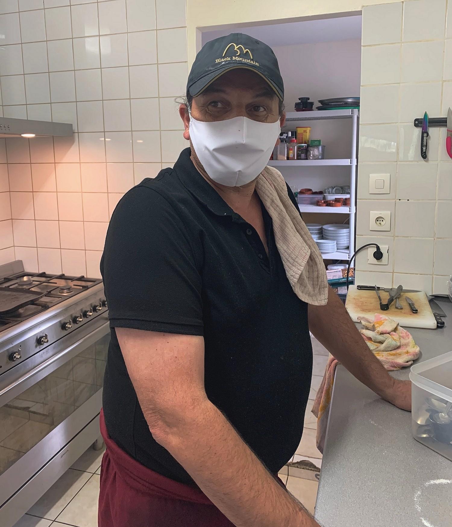 Frédéric, un golfeur en cuisine ©TB/laradiodugout.fr