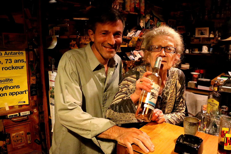 Pierrick Bourgeault avec Jeannine Brunet © Jérôme Lourdais