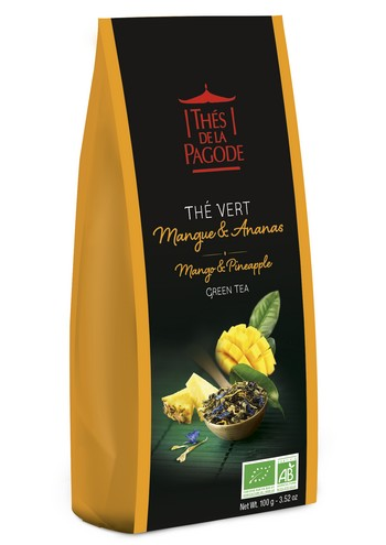 Thé Vert Mangue & Ananas 100g ©DR
