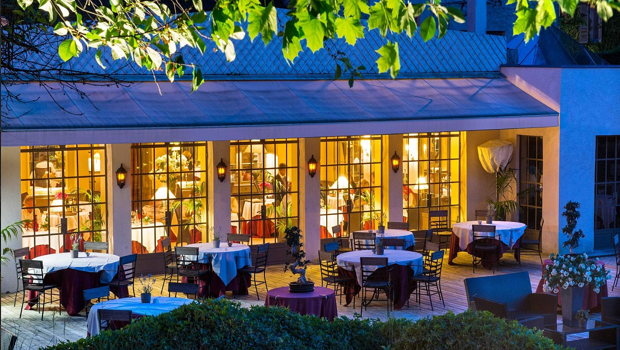 Chateau de courban restaurant