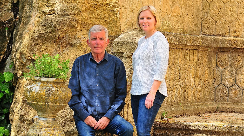 Christian Le Dorze et sa fille Victoire ©DR