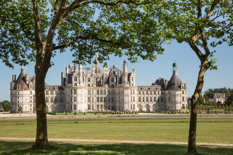 le château, son parc et ses arbres © Domaine national de Chambord © Sophie Lloyd