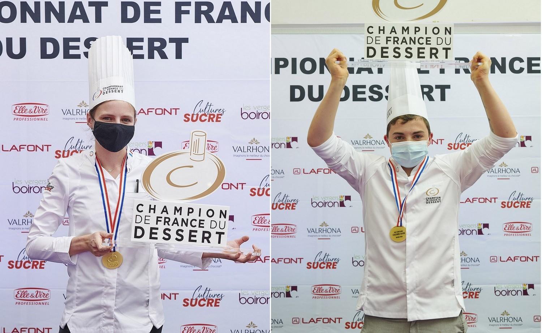 Morgane et Zachary, champions de France 2020 ©Julien Bouvier Studio