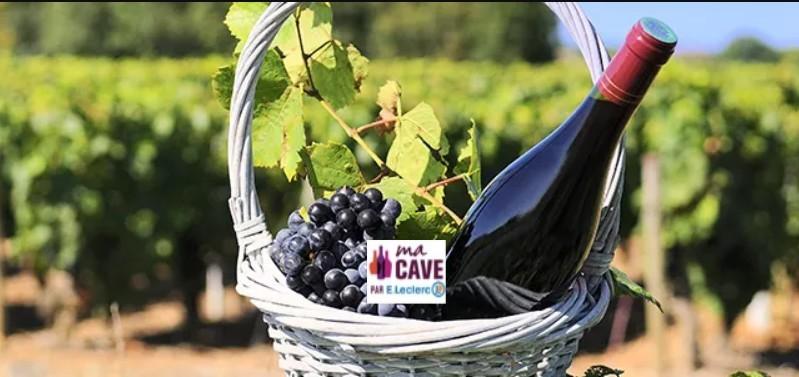 panier vin leclerc logo