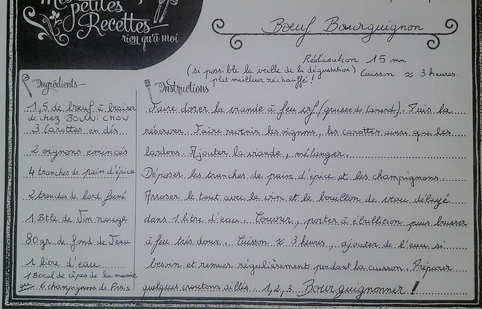 fiche de recette ©Marine Bounichou