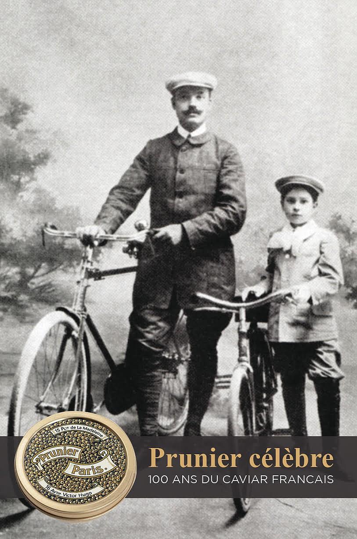 Emile Prunier et sa fille Simone qui lui a succédé après sa mort ©DR