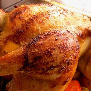 le poulet à la peau craquante
